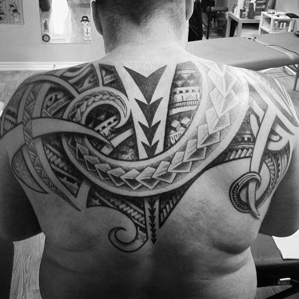 Extreme Upper Back Tattoos