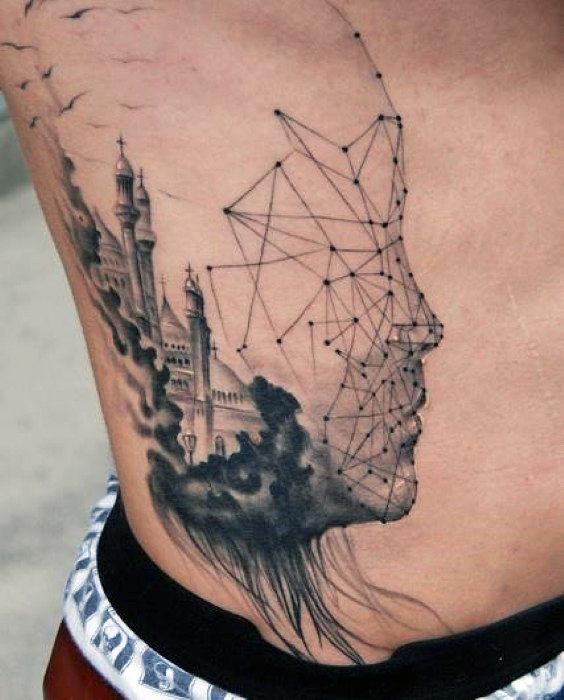 Fabulous Abstract Tattoo Designs