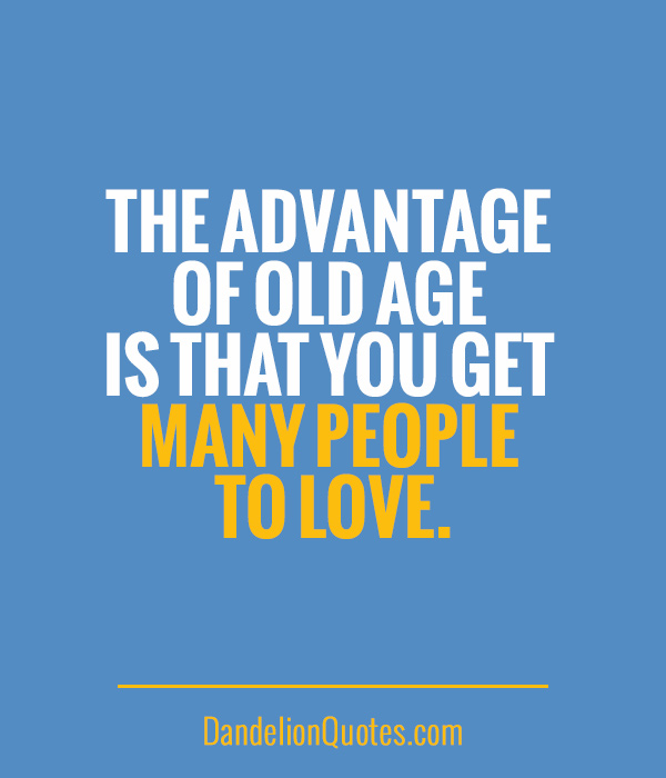 Fabulous Age Quotes