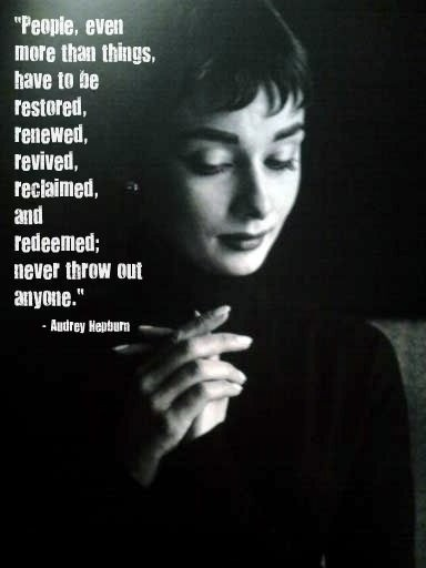 Fabulous Audrey Hepburn Quotation