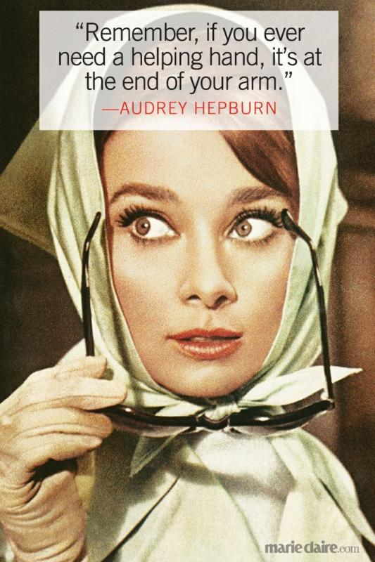 Fabulous Audrey Hepburn Quotes