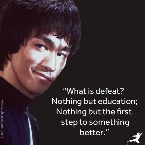 Fabulous Bruce Lee Quotation and Sayings