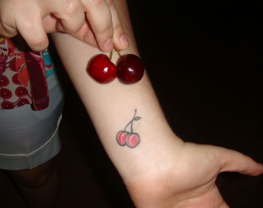 Fabulous Cherry Tattoos Designs
