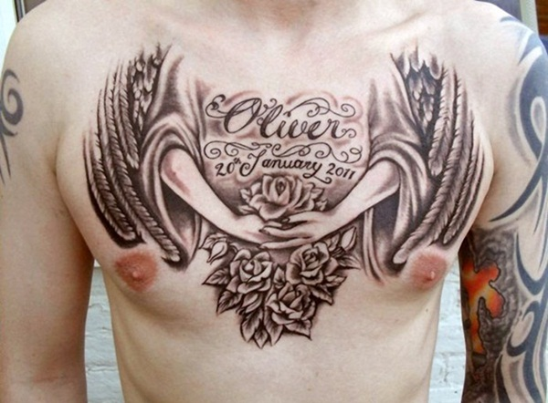 Fabulous Chest Tattoo Designs