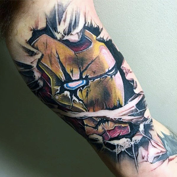 Fabulous Comic Tattoo Designs