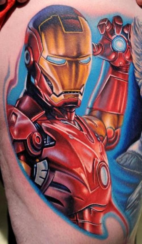 Fabulous Comic Tattoos Designs