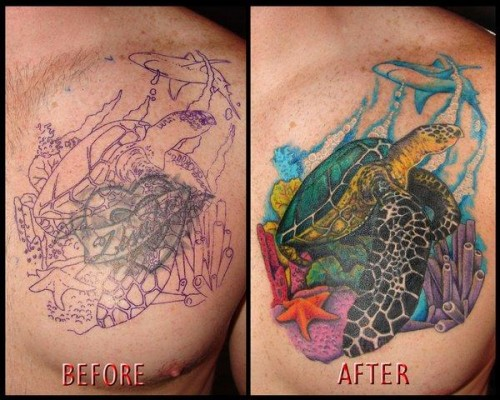 Fabulous Cover Up Tattoo
