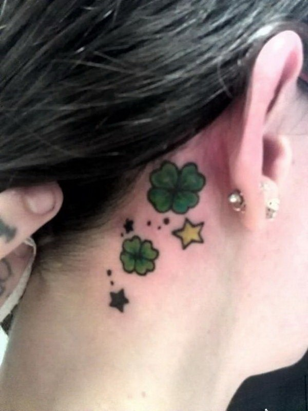 Fabulous Ear Tattoo Designs