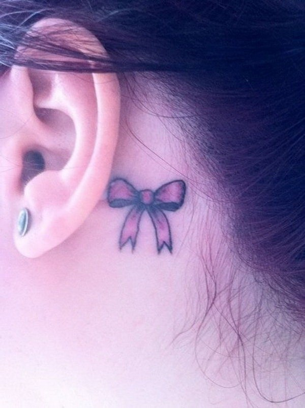 Fabulous Ear Tattoo