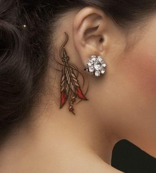 Fabulous Ear Tattoos Designs
