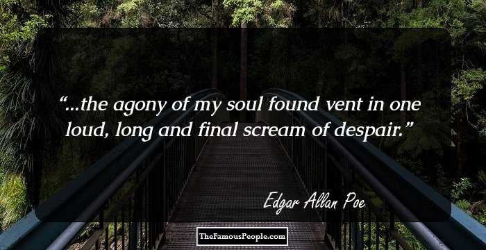 Fabulous Edgar Allan Sayings