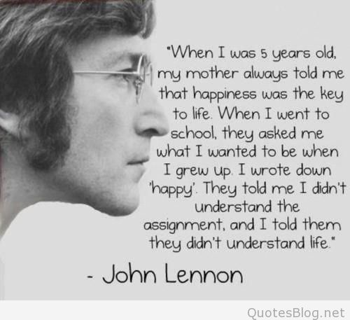 Fabulous John Lennon Quotations