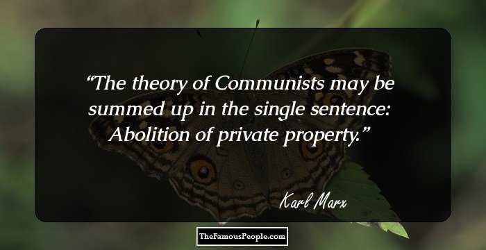 Fabulous Karl Marx Quotations and Sayings