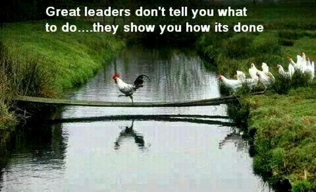Fabulous Leader Sayings