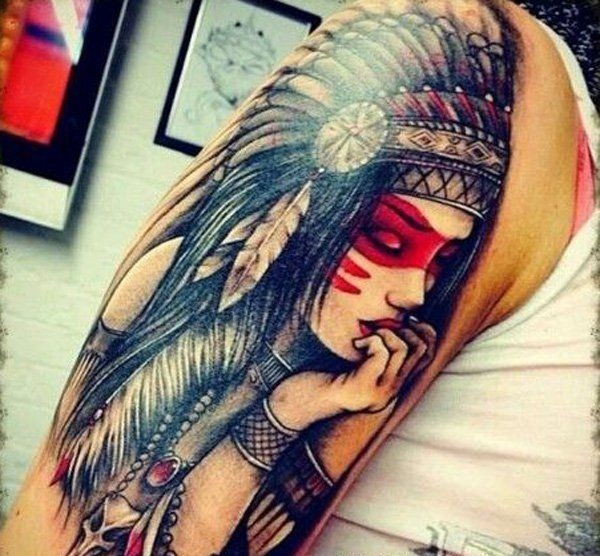 Fabulous Red Ink Tattoos