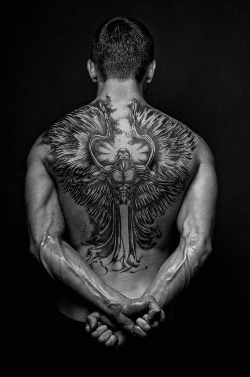 Fabulous Upper Back Tattoo Designs
