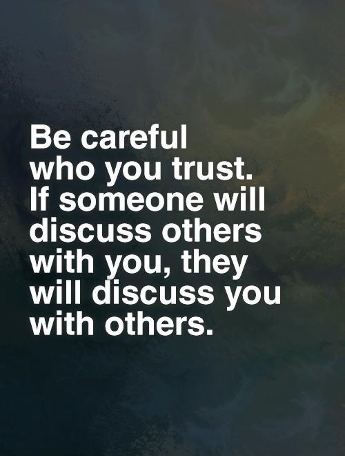 Famous Trust Sayings