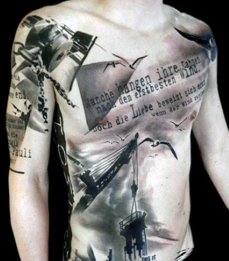 Fantastic Abstract Tattoo Designs