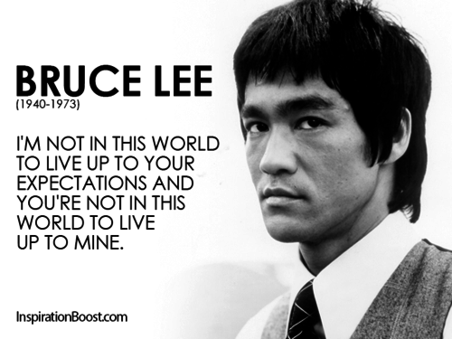 Fantastic Bruce Lee Quotes