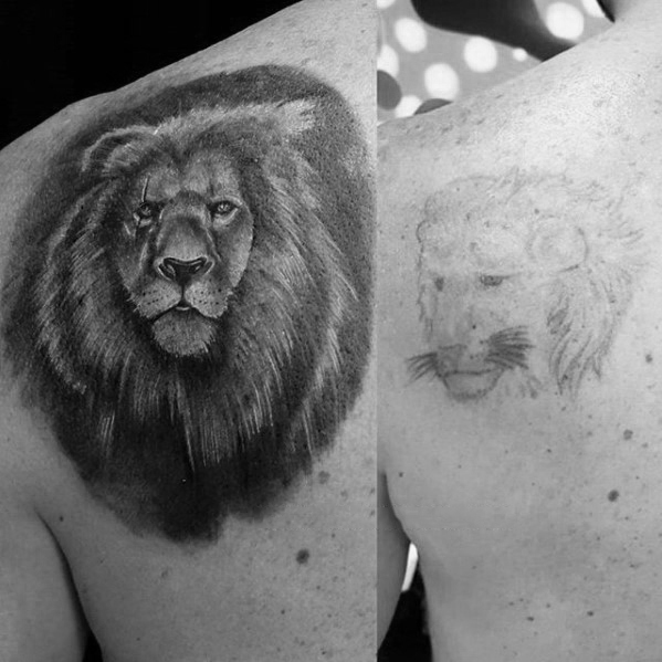 Fantastic Cover Up Tattoos