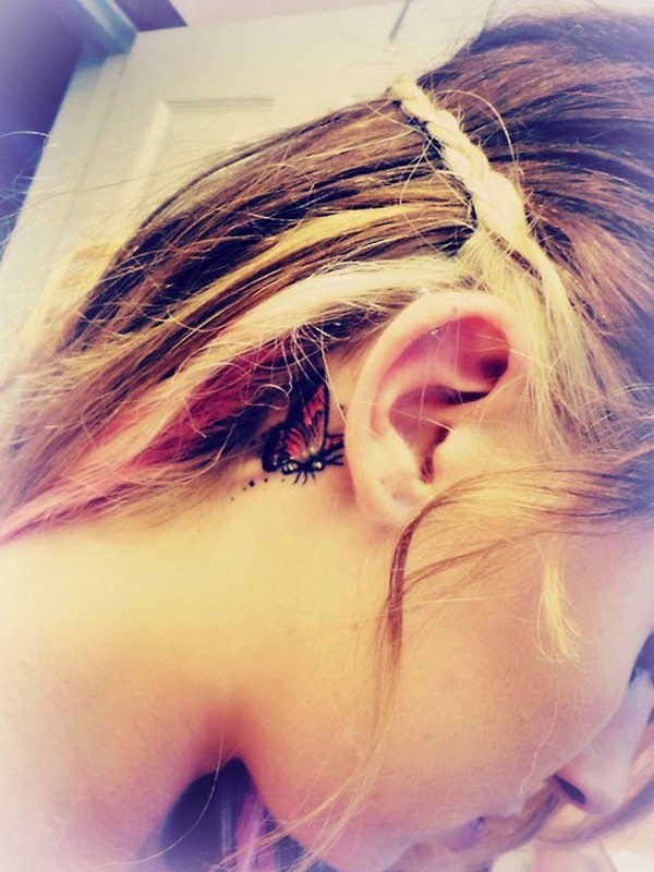 Fantastic Ear Tattoos