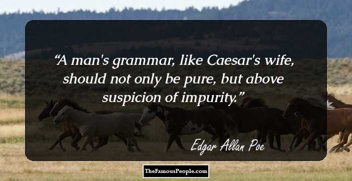 Fantastic Edgar Allan Quotations and Sayings