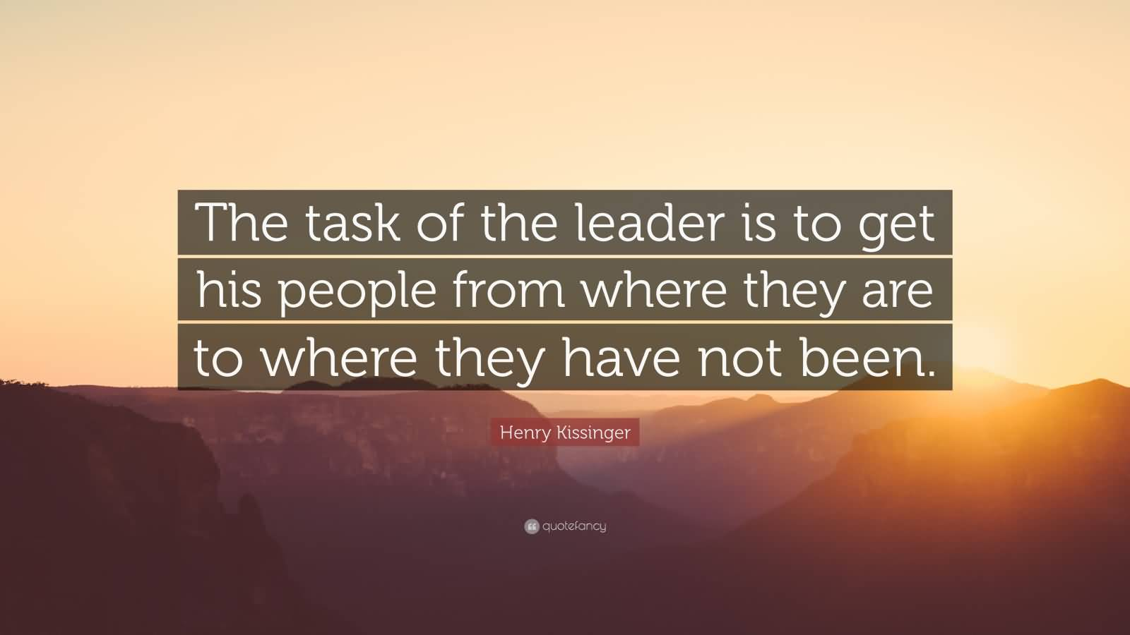 Fantastic Leadership Sayings