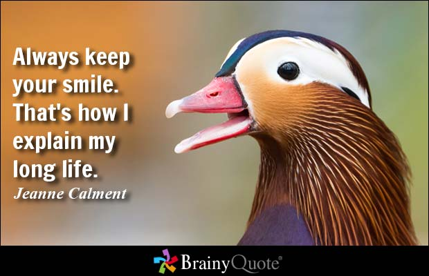 Fantastic Smile Quotations