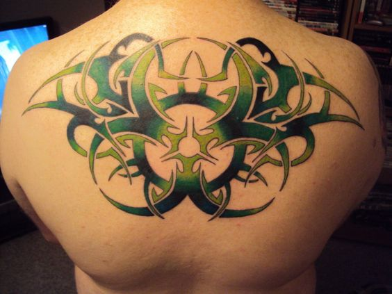 Fantastic Upper Back Tattoo Designs