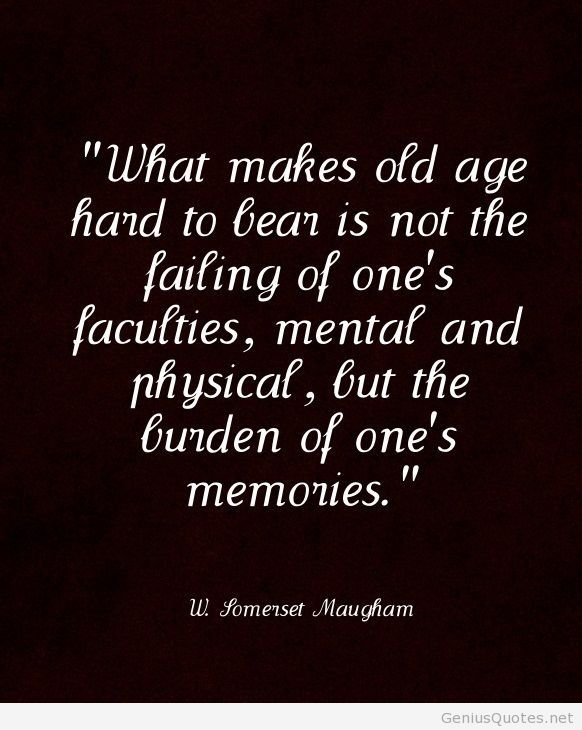 Good Age Quotes
