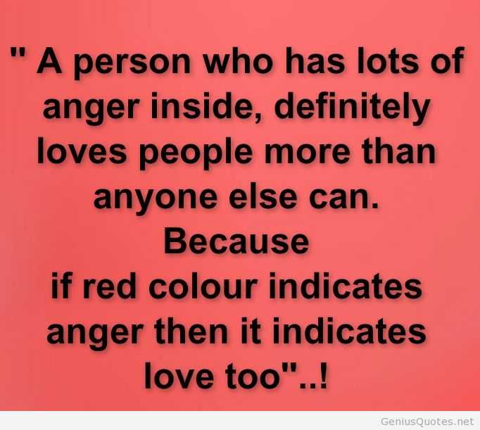 Good Anger Quotes