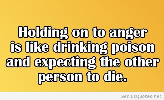 Good Anger Sayings