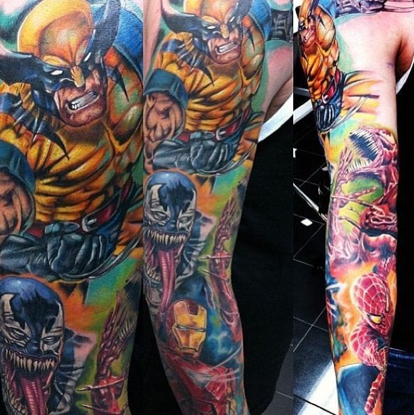 Good Comic Tattoo Designs