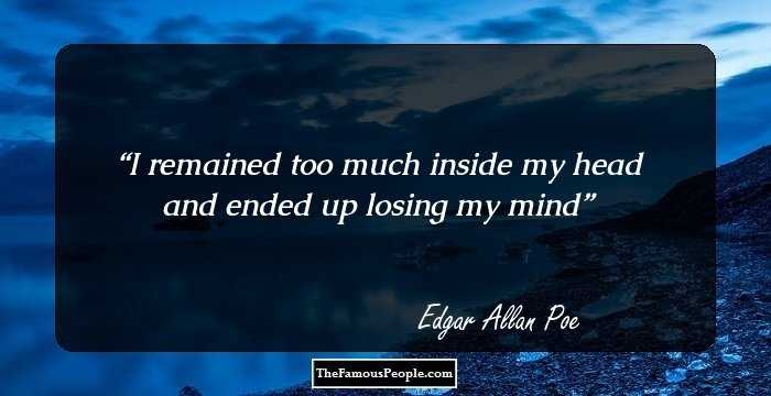 Good Edgar Allan Quotations and Sayings