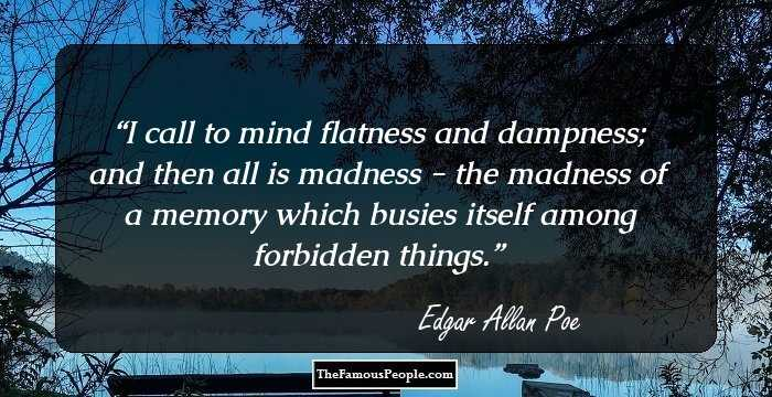 Good Edgar Allan Quotes
