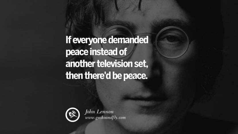 Good John Lennon Sayings