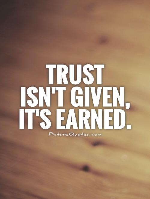 Great Trust Quotations