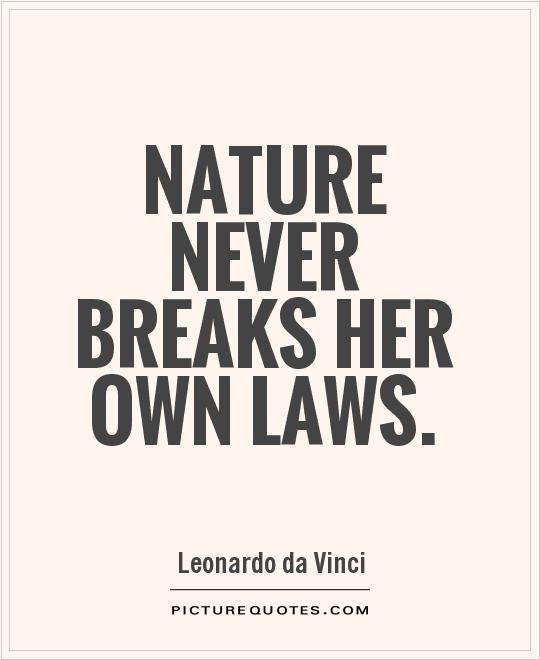 Impressive Nature Quotations and Quotes