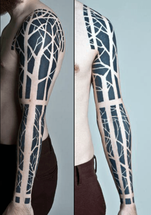Incredible Abstract Tattoo