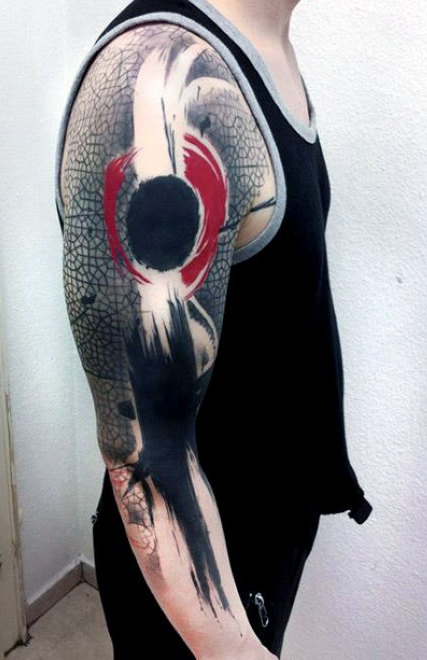 Incredible Abstract Tattoos Designs