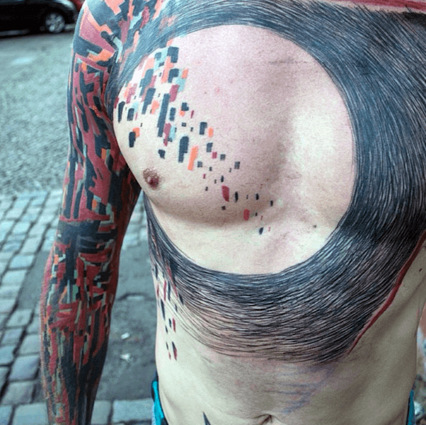Incredible Abstract Tattoos