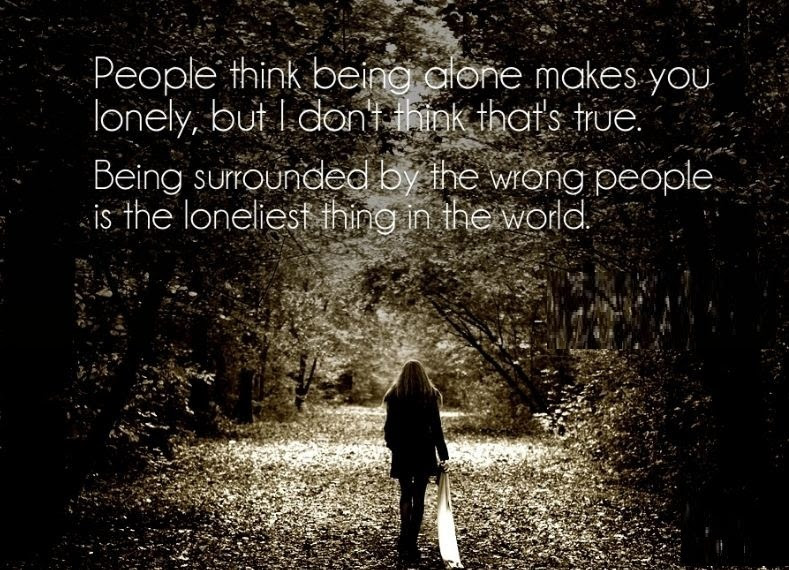 Incredible Alone Quotes