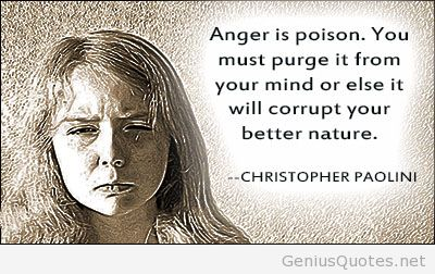 Incredible Anger Quotations