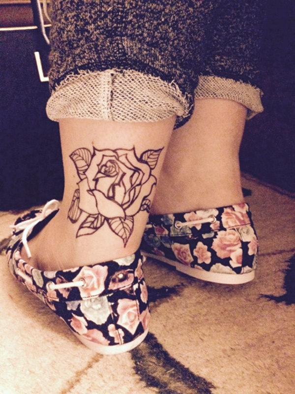 Incredible Ankle Tattoos