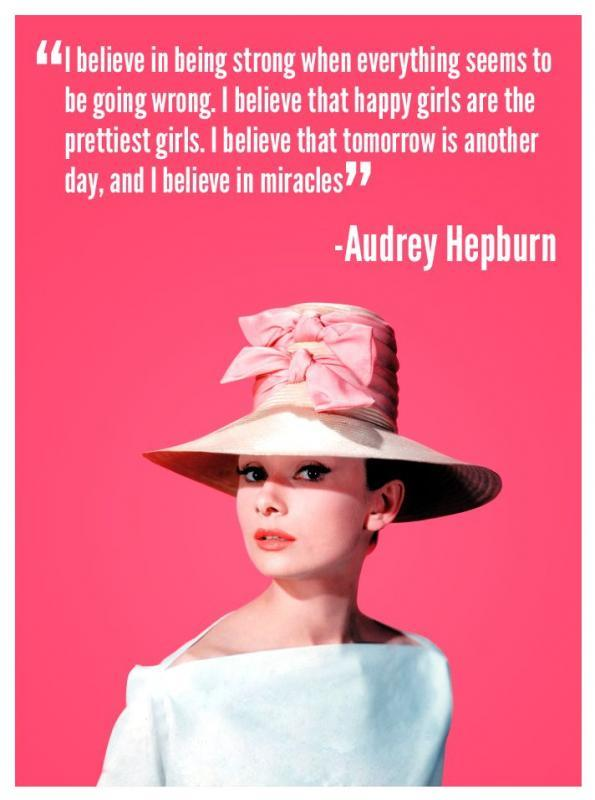Incredible Audrey Hepburn Quotation