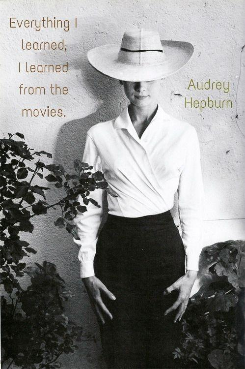 Incredible Audrey Hepburn Sayings