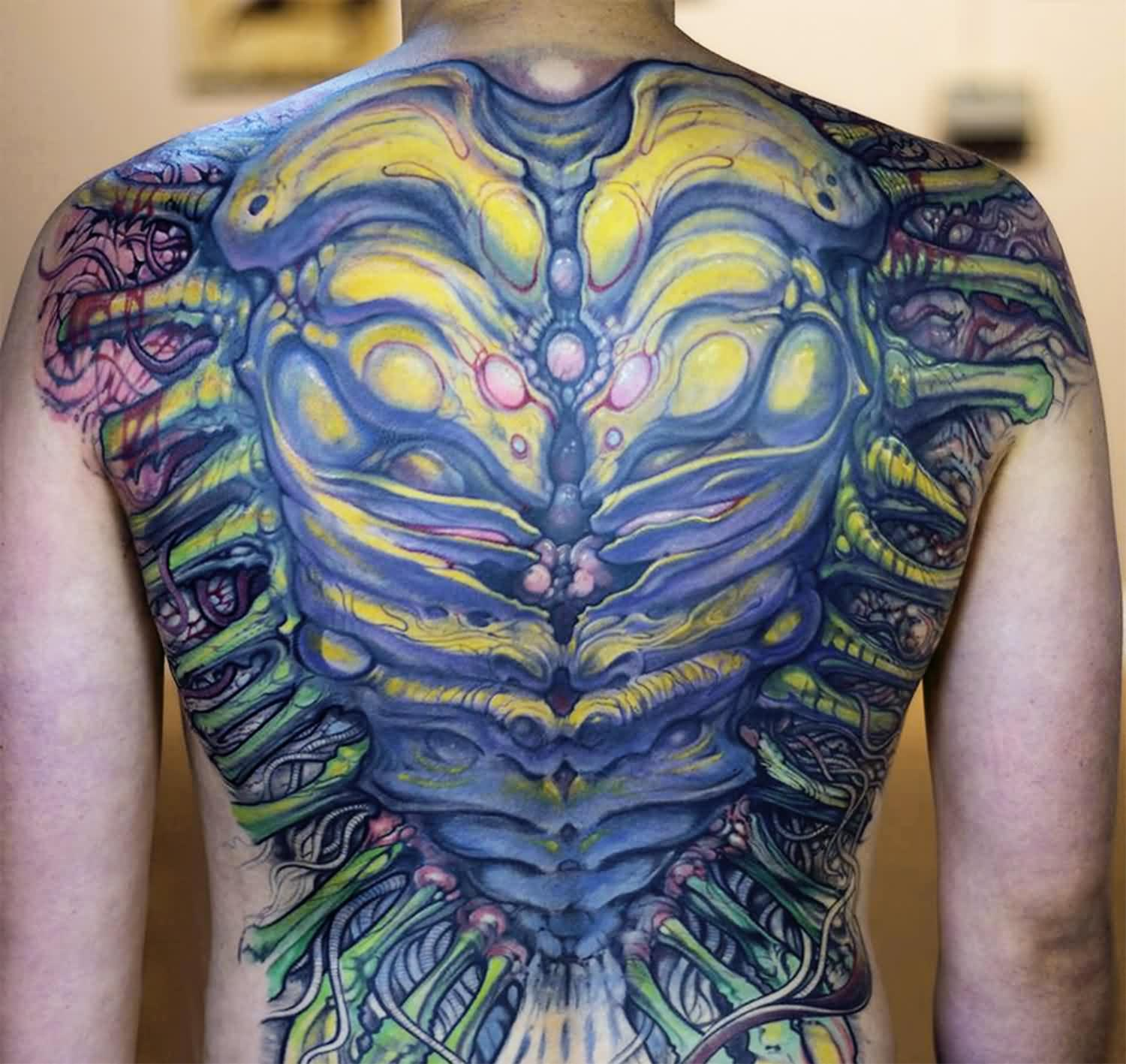 Incredible Biomechanical Tattoos