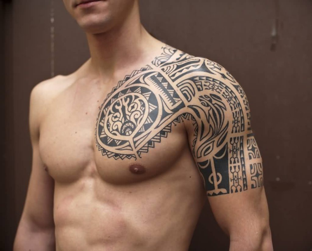 Incredible Chest Tattoos Designs