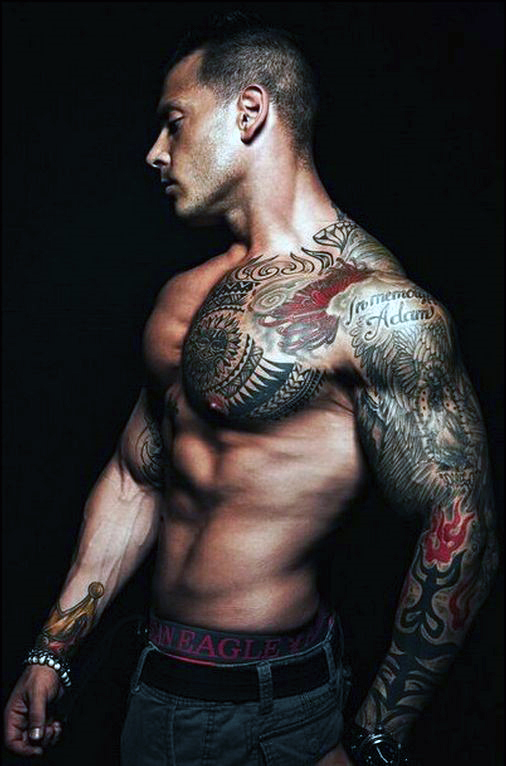 Incredible Chest Tattoos