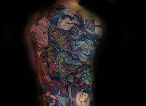 Incredible Chinese Tattoos Design